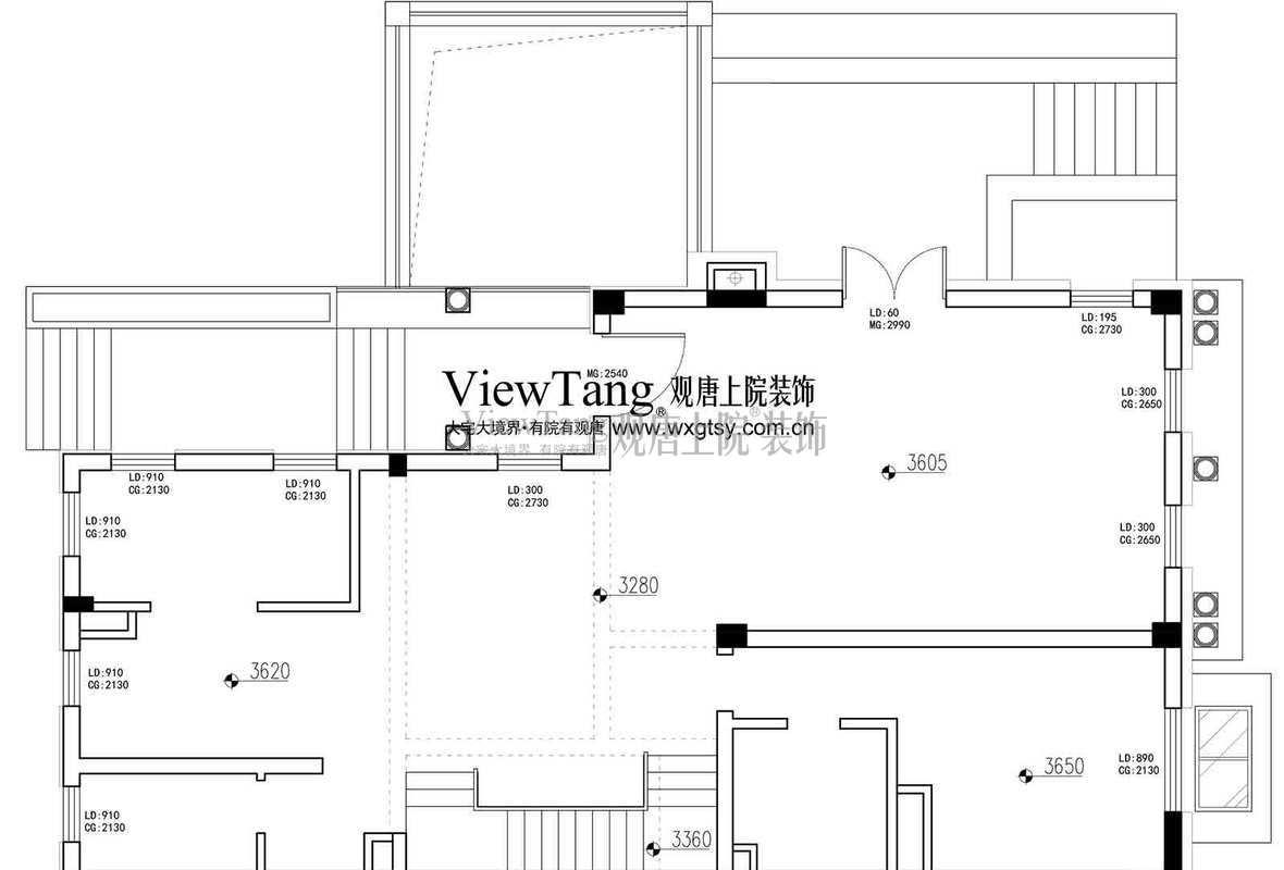 九龙仓国宾1号480㎡户型解析