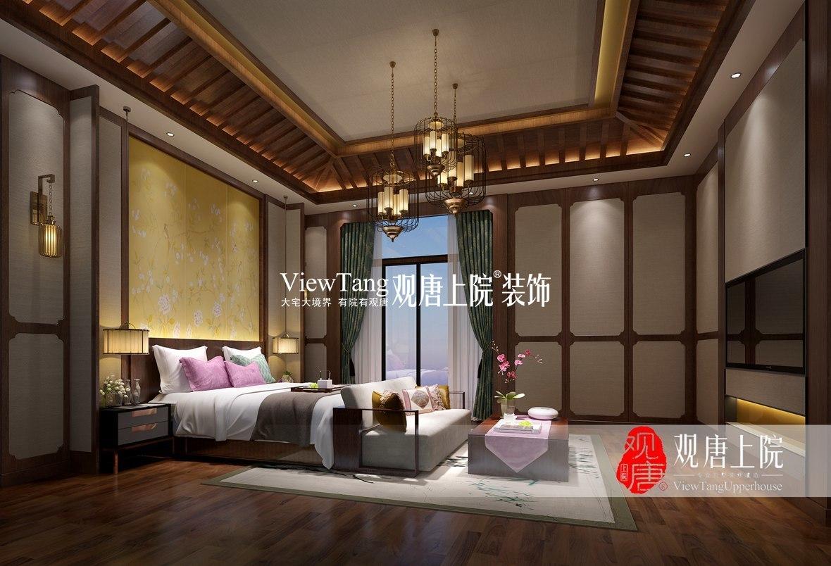 中海名门(中式)别墅装修效果图