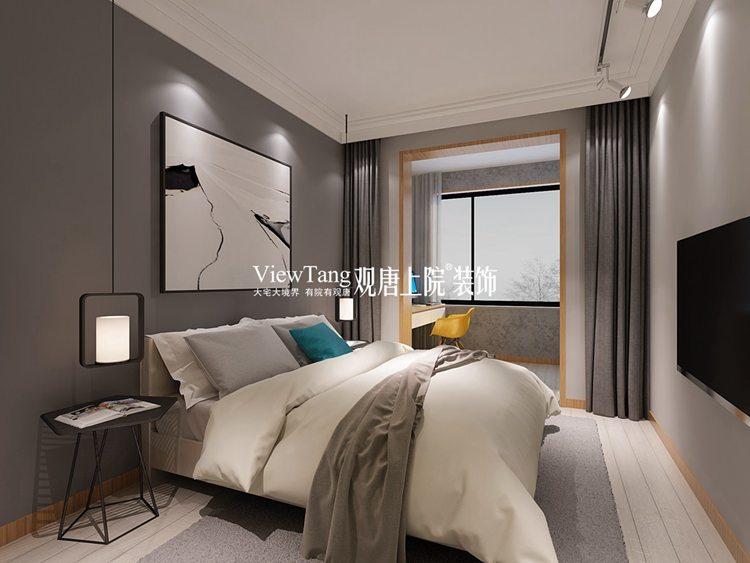 现代北欧创意装修效果图之卧室2