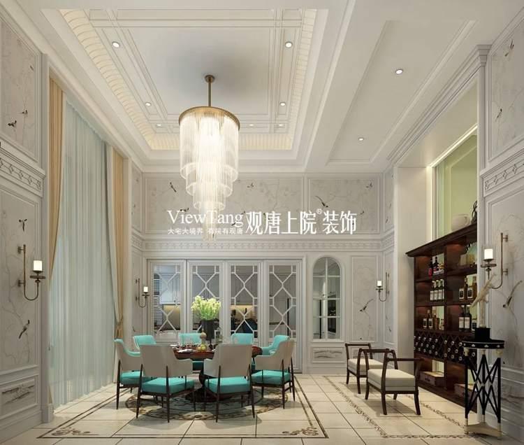 现代美式别墅装修效果图