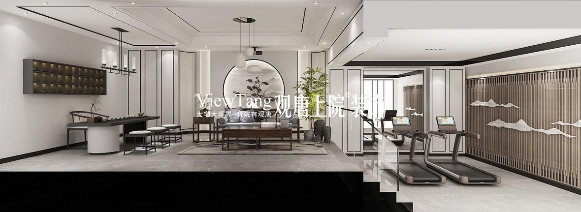蓝光和雍锦园(新中式)别墅装修效果图