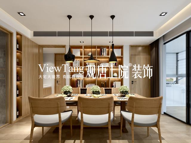 狮山原著(现代简约)-餐厅装修效果图