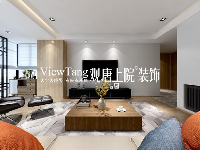 狮山原著(现代简约)-客厅装修效果图
