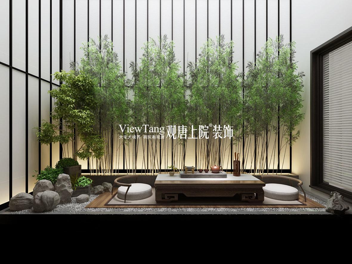 蓝光和雍锦园(新中式)装修效果图