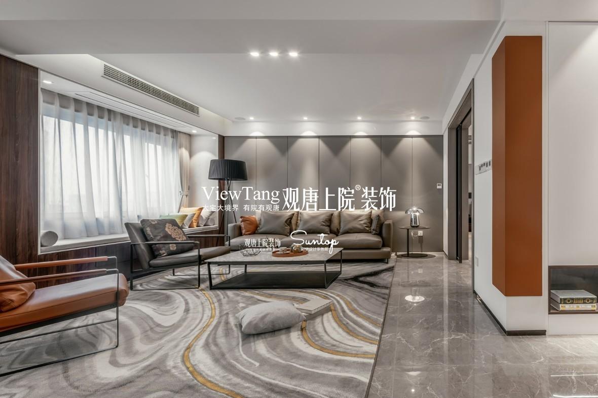 锦华苑(现代)别墅装修实景图