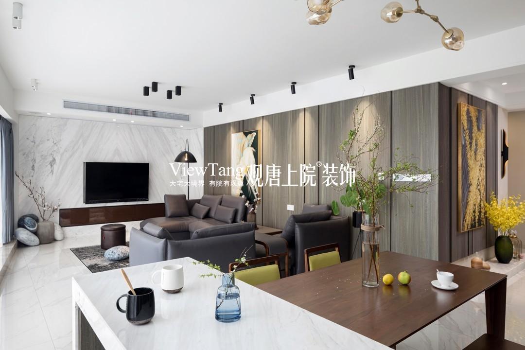 水岸清华瀚宫(现代简约实景)装修图