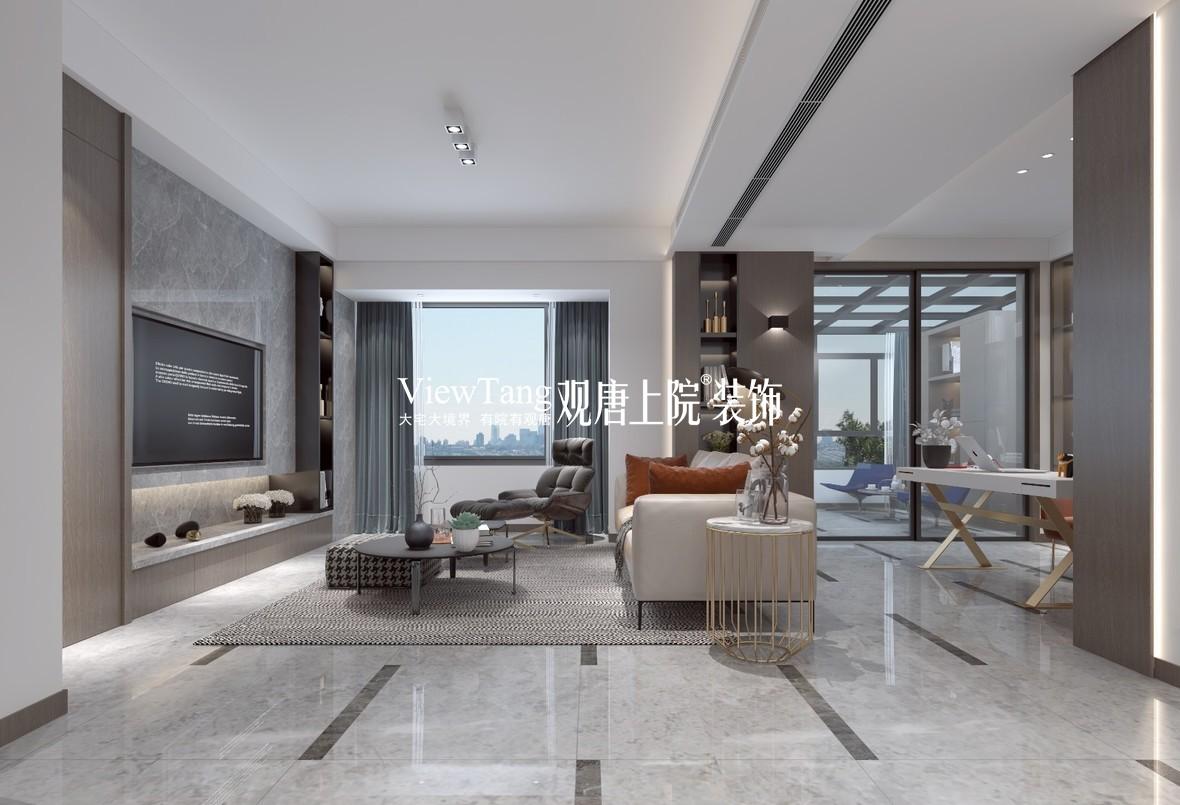 蓝光和雍锦园 200平方 现代风格