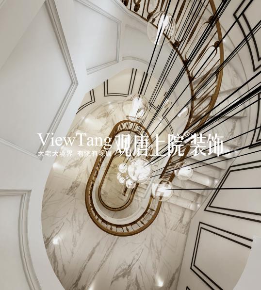 九龙仓国宾一号---楼梯